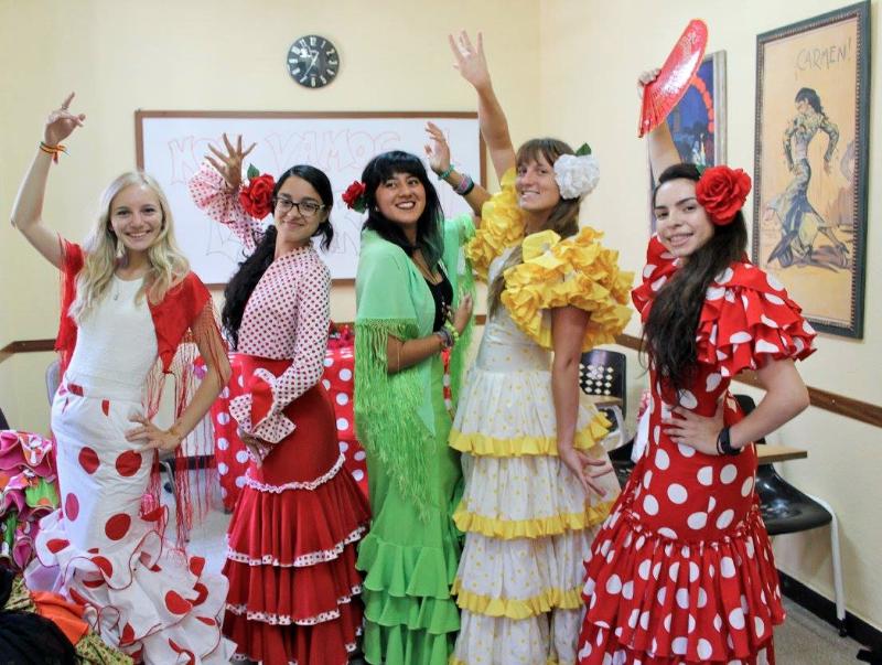 Pre-Feria party
