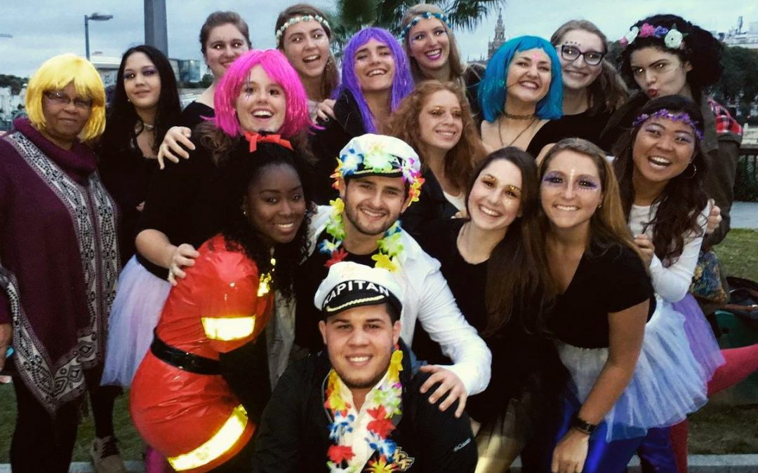 Our students went to Cádiz to celebrate Carnaval