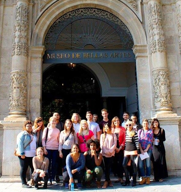 This Friday is our semester visit to Seville's Fine Arts Museum