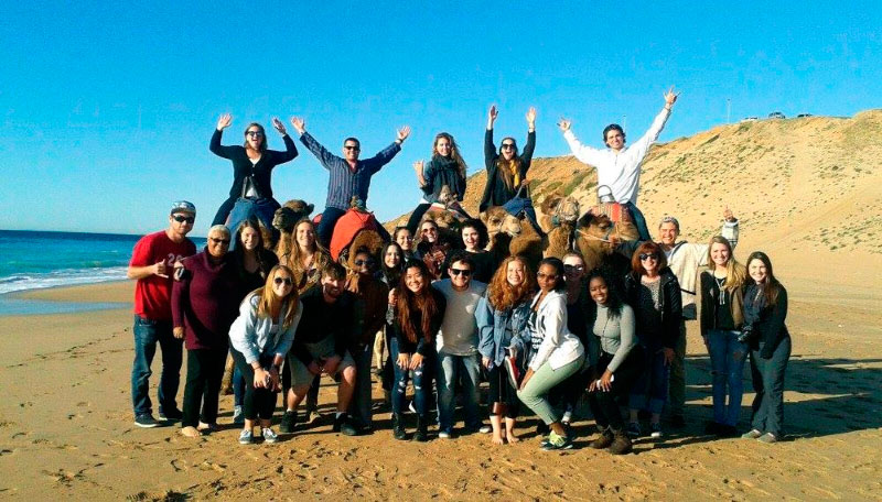 Our next trip of the semester is to Morocco!