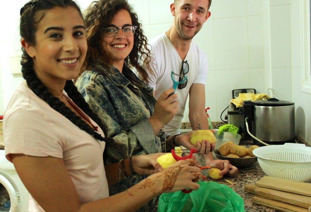 Classic Paella and Fruity Sangria cooking class