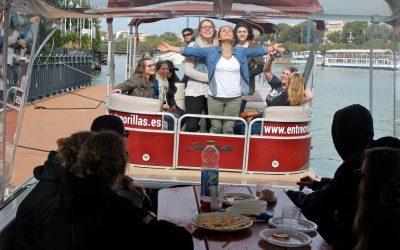 Boat cruise down the Guadalquivir!