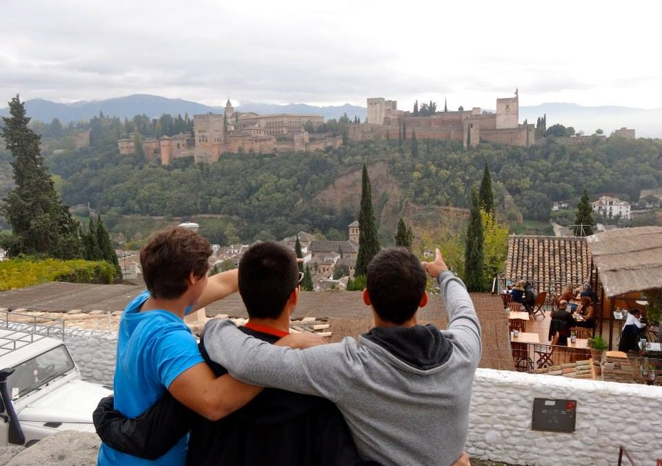 Friday is our weekend trip to Granada