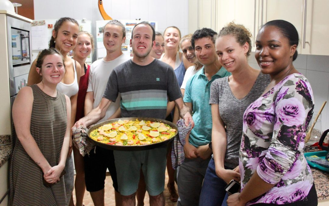 First Spanish Cooking class