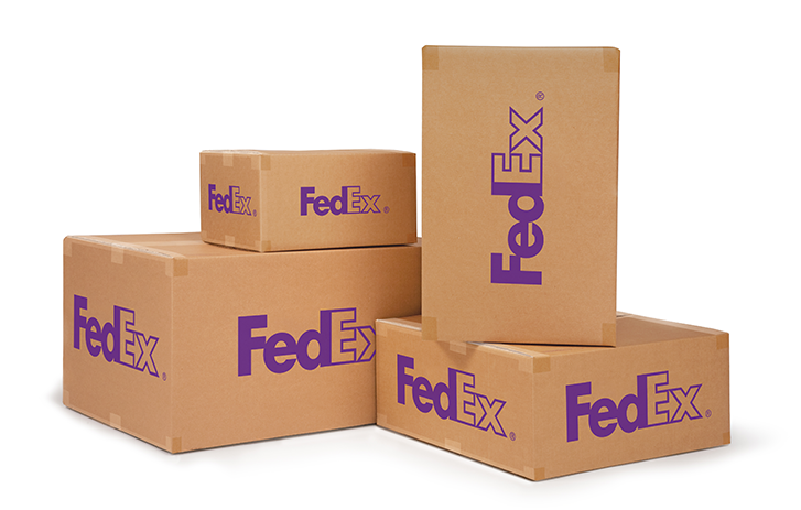 Ship suitcases with FedEx