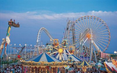 April Fair amusement park